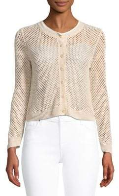 Theory Open-Weave Cardigan