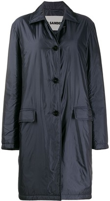 Jil Sander relaxed fit trench coat