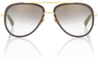 Dita Eyewear Mach Two 18kt gold-plated sunglasses