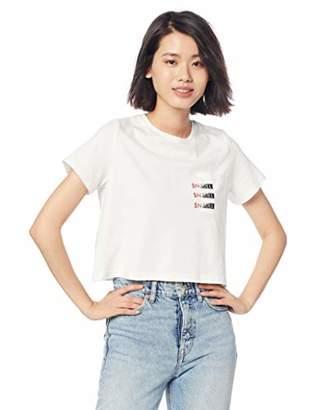 Snidel (スナイデル) - [スナイデル] Tシャツ SNIDELロゴポケットTシャツ レディース SWCT191119 WHT 日本 F (FREE サイズ)