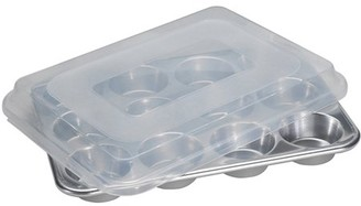 Nordicware 12-Cup Muffin Pan with Lid