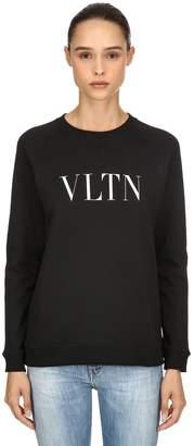 Valentino (ヴァレンティノ) - VALENTINO VLTN ジャージースウェットシャツ
