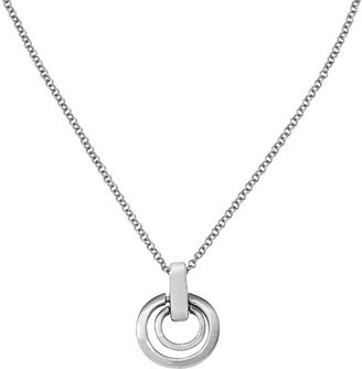 """Sterling Nested Pendant with 16"""" Chain"""
