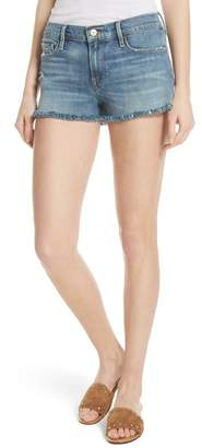 Frame Le Cutoff Denim Shorts (Wooton)