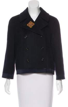 DKNY Double-Breasted Wool Jacket