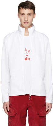 All In all in White Yokoama Jacket