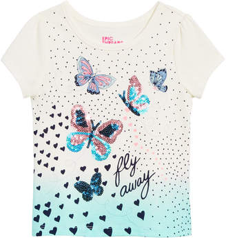 99b2ef9f3f73 Epic Threads Toddler Girls Butterfly-Print T-Shirt