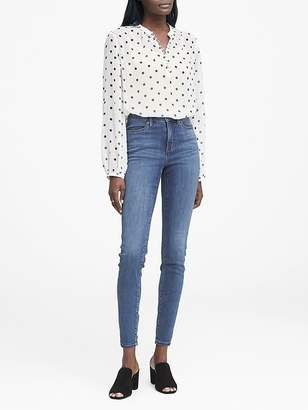Banana Republic High-Rise Legging-Fit Medium Wash Jean