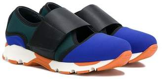 Marni TEEN touch strap sneakers
