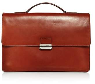 Cole Haan Washington Grand Leather Top Handle Briefcase