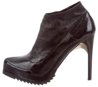 Ruthie Davis Leather Platform Booties