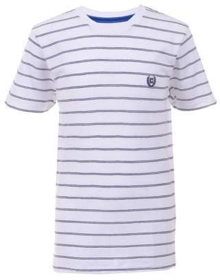 Chaps JET EXCLUSIVE - Calvin Short Sleeve Stripe Tee