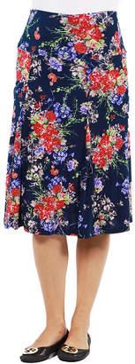 24/7 Comfort Apparel Tokyo Garden Maternity Skirt