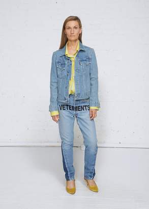 Vetements Cut-up Denim Jacket