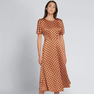 Seed Heritage Flowing Spot Dress