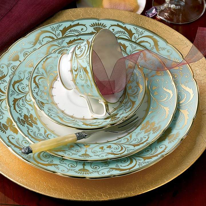 "Royal Crown Derby ""Darley Abbey"" Bread & Butter Plate, 6"""