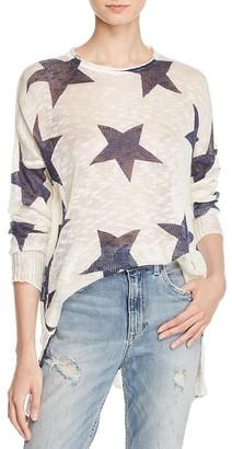 Show Me Your MuMu Star Print Sweater $140 thestylecure.com