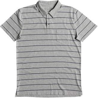 Quiksilver Knolljet Stripe Short-Sleeve Polo - Men's