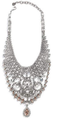 DYLANLEX Gambino Crystal Statement Necklace