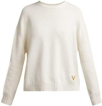 Valentino Cashmere Sweater - Womens - Ivory