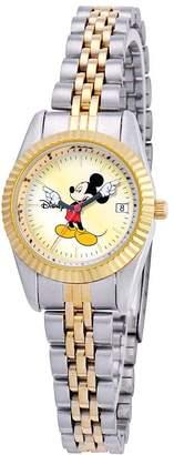 Disney Women's Mickey Two-Tone Watch