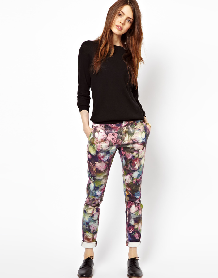 Paul Smith Paul by Romantic Rose Slim Trousers