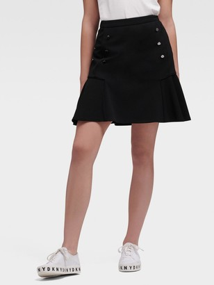 DKNY Peplum Mini Skirt