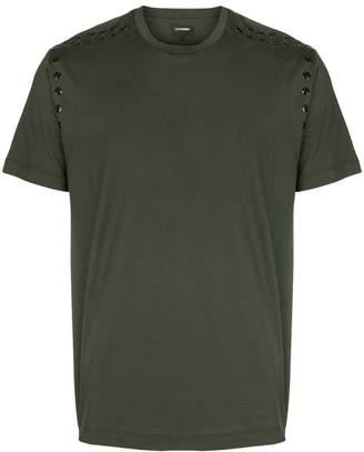 Les Hommes eyelet T-shirt