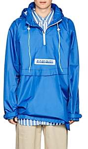 Martine Rose Napa by Men's Logo Tech-Canvas Anorak-Blue