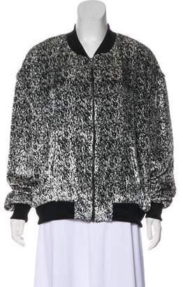 Baja East Long Sleeve Printed Jacket