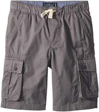 Lucky Brand Kids Pull-On Cargo Woven Shorts Boy's Shorts