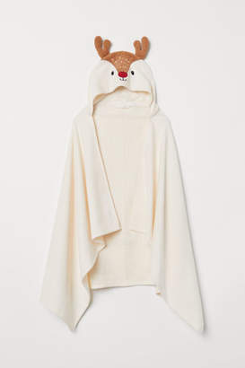 H&M Hand Towel with Hood - White