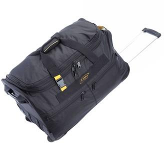 A.Saks A. Saks 25-inch Expandable Wheeled Upright Duffel Bag