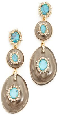 Alexis Bittar Liquid Silk Dangling Earrings $295 thestylecure.com