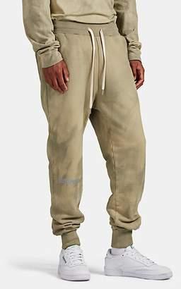 John Elliott Men's Reflective-Logo Cotton Fleece Sweatpants - Lt. brown