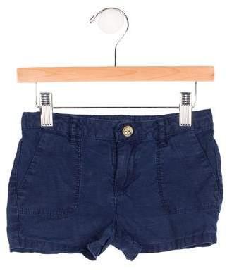 Vince Girls' Four Pocket Mini Shorts
