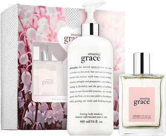 philosophy amazing grace jumbo set
