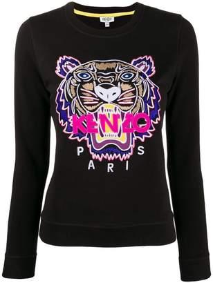 Kenzo slim logo sweatshirt