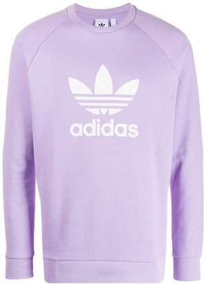 adidas logo printed sweater