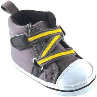 Luvable Friends Newborn Baby Boy Zig Zag Hi-Top Shoes