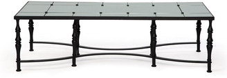 Badgley Mischka Home Anders Mirrored-Top Coffee Table