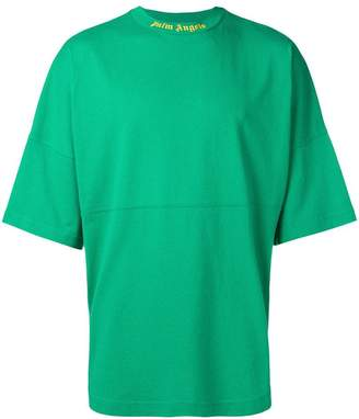 Palm Angels oversized logo T-shirt