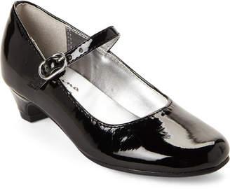 Nina Kids Girls) Black Kayleigh Mary Jane Shoes