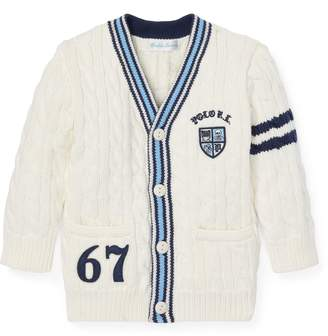 Ralph Lauren Cotton Cricket Cardigan