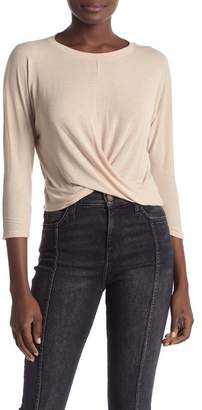 Project Social T Twist Front Long Sleeve Shirt