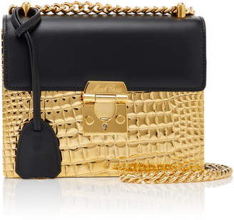 Mark Cross Night Bag in Gold Plated Brass