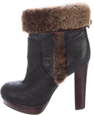 Tory BurchTory Burch Sebastian Shearling Ankle Boots