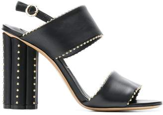 Salvatore Ferragamo embellished chunky sandals