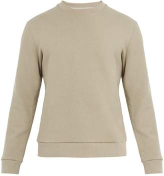 Fanmail Crew-neck cotton-jersey sweatshirt