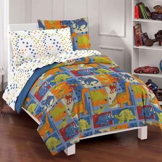 Factory dream Dinosaur Blocks Ultra Soft Microfiber Boys Comforter Set
